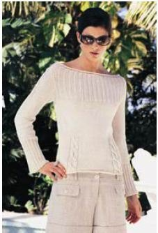 Pullover in Tahki Yarns Cotton Classic