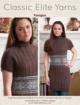 Paragon Dress in Classic Elite Yarns Liberty Wool Solids - Downloadable PDF