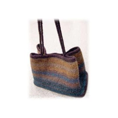 Watercolor Bag (Felted)