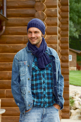 Scarf and Hat in Schachenmayr Universa - S6920 - Downloadable PDF