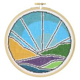 Hawthorn Handmade Blue Sky Cross Stitch Kit