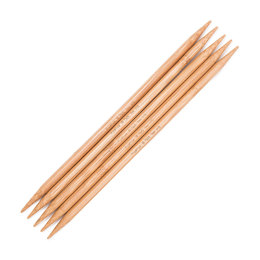 "Hiya Hiya Bamboo Double Points 8"" 20cm Double Pointed Needle 20cm (8"") (Set of 5)"