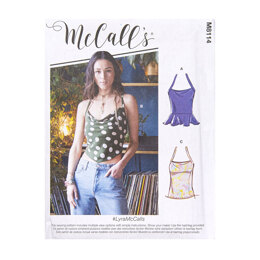 McCall's Misses' Tops M8114 - Sewing Pattern