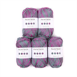Paintbox Yarns Metallic DK 5 Ball Value Pack