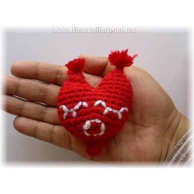 Mrs. Heart Amigurumi