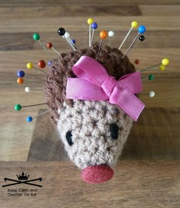 Betty Prickles the Hedgehog Pincushion