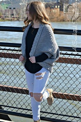 Celesse Cabled Cocoon Sweater