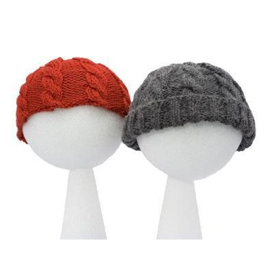 Easy Child's Cable Hats