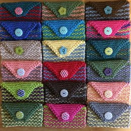 Easy Two-Color Purse Pouch
