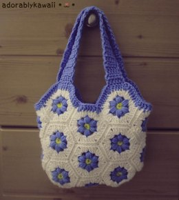 Flower Hexagon Bag