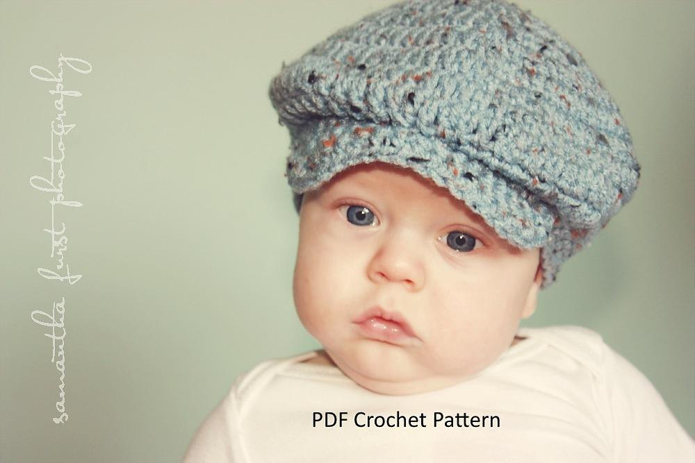 Donegal Cap For Babies To Adults Crochet Pattern By Irish