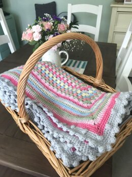 Sweetheart Granny Blanket - Original and Rose Garden Colour Combinations