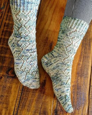 Misty Mountains Socks