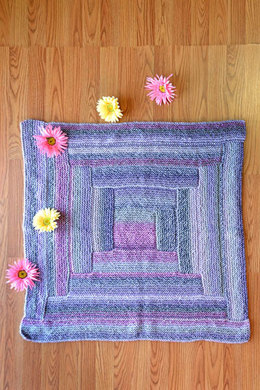 Box of Blocks Throw in Universal Yarn Major - Downloadable PDF