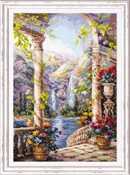 Magic Needle Fantastic View Cross Stitch Kit