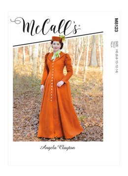 McCall's Misses' Coat M8123 - Sewing Pattern