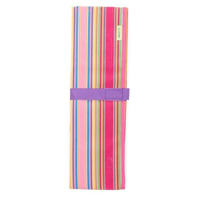 Clover Striped Knitting Needle Case - 36cm long