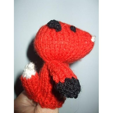 Foxy Fred Finger Puppet