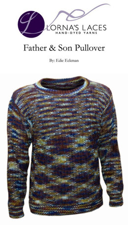 Father & Son Pullover in Lorna's Laces Shepherd Worsted