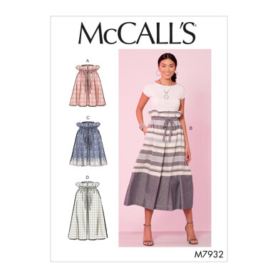 McCall's Misses' Skirts M7932 - Sewing Pattern