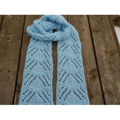Winters Ice Lace Scarf