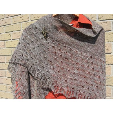 Battle-Weary Dragon Shawl
