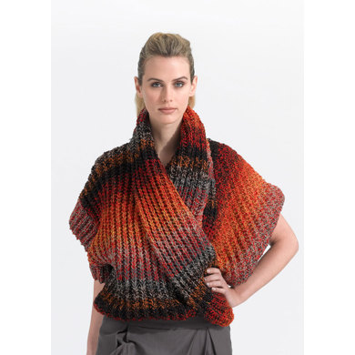 Multi Strand Top in Lion Brand Vanna's Glamour - L0662