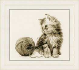 Vervaco Kitten Cross Stitch Kit