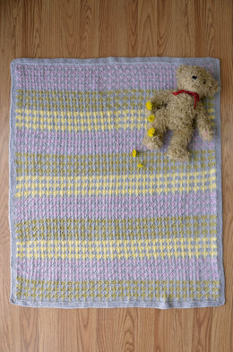 Sugar Drops Blanket in Universal Yarn Little Bird - Downloadable PDF
