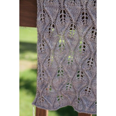 Leave-Me-Not shawl
