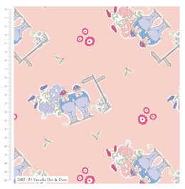 Craft Cotton Company Alice In Wonderland - Tweedle Dee & Dum