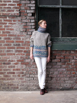 Nordic Pullover in Imperial Yarn Native Twist - PC14 - Downloadable PDF