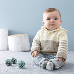 Baby Sweater in Phildar Partner 6 - Downloadable PDF