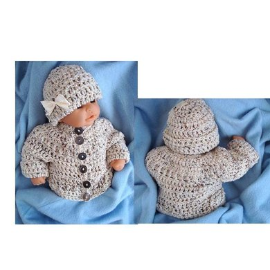 720 CABLE CARDIGAN Sweater, Newborn to 4 years