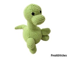 Amigurumi Cliff the Brontosaurus