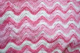 EASY BREEZY Ripple Baby Blanket
