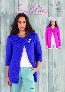 Jackets in Sublime Lola - 6125 - Downloadable PDF