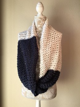 Rivulet Lace Infinity Wrap and Scarf