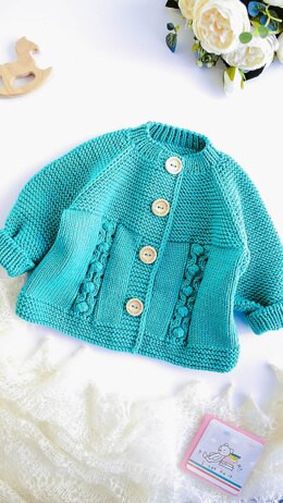 "Cardigan ""Tally's Pearls"""