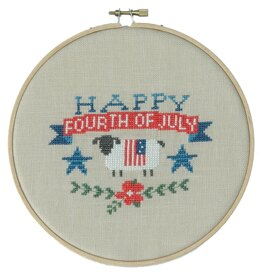 Tiny Modernist Happy Fourth of July - Leaflet