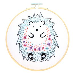 Hawthorn Handmade Hedgehog Embroidery Kit - 7in