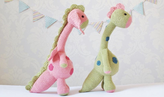 Crochet Dragons by Kornflake Stew