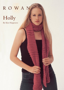 Holly Scarf in Rowan Big Wool
