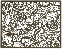 Sizzix Thinlits Dies By Tim Holtz - Intricate Lace