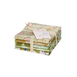 Tilda Harvest Fat Quarter Bundle Green (Set of 5)