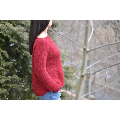 Day Off Jumper Sweater Knitting Pattern By The Morning Whisper