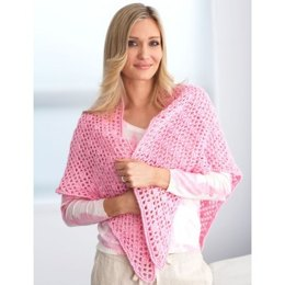 Prayer Shawl in Bernat Satin