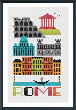 Tiny Modernist Rome - Leaflet