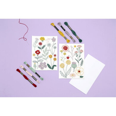 Wool and the Gang In the Bloom Embroidery Kit - 16cm x 23cm