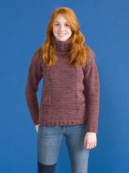 Skibbereen Sweater in Classic Elite Yarns Big Liberty Wool